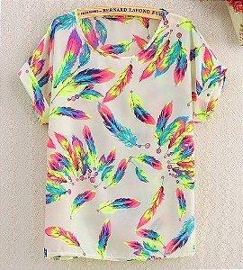 Camiseta Feminina STYLE - Diversos Modelos