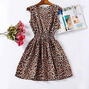 Vestido Estampado Leopard