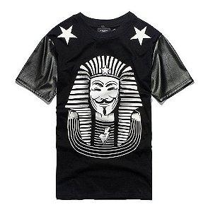 Camiseta Mangas De Couro Vendetta