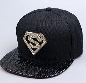 Boné SUPERMAN SNAPBACK - BLACK