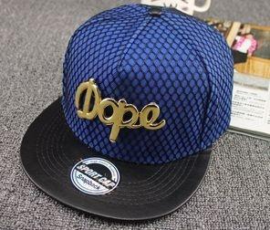 Boné DOPE Metal Azul - Snapback