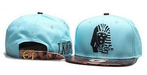 Boné LAST KINGS Azul & Leopard - Strapback