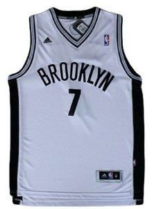 Regata - Brooklyn NETS NBA Adidas Basquete BRANCA