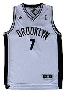 Regata - Brooklyn NETS NBA Adidas Basquete BRANCA