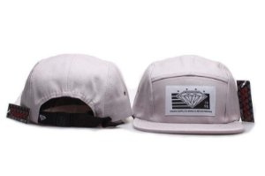 Boné 5 Panel Diamond Supply - Cinza