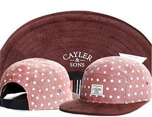 Boné 5 PANEL - Cayler & Sons (Pink Classic)