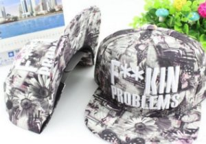 Boné F**KIN PROBLEMS RUDE - Snapback