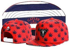 Boné Snapback - Cayler WD RED