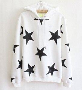 Moletom Star - Branco (Tamanho Único)