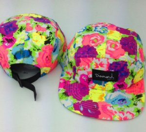 Boné Diamond Flower #1 - 5 PANEL