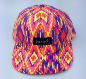 Boné Diamond TIE - 5 PANEL