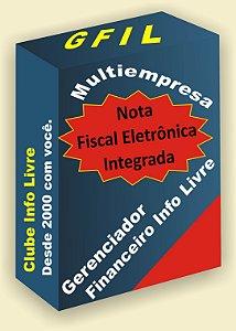Licença Anual do Sistema GFIL