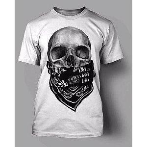 Camiseta Caveira Bandana