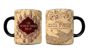 Caneca Mágica Harry Potter - Mapa Do Maroto