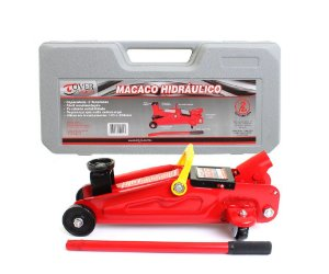 Macaco Hidráulico Jacaré 2 Toneladas c/maleta de transporte