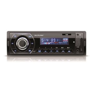MP3 Player Automotivo Multilaser Talk BT FM USB SD Aux