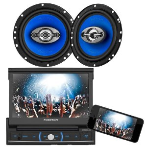 Kit DVD Player SP6520 +  Par Alto Falante 6""