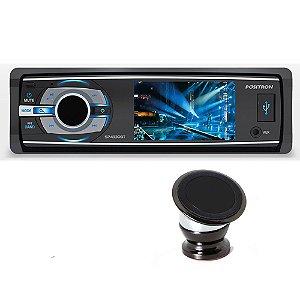 Combo Dvd Positron Sp4330bt  com Suporte Magnetico