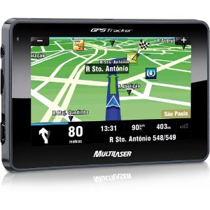 Gps Multilaser Tracker 2 Tela 4,3 Mp3