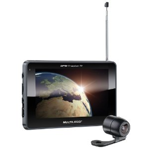 Gps Multilaser Tracker 2 c Tela 7 Pol Tv Câmera Ré