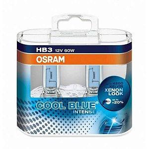 Lâmpada Osram HB3 9005 12V 60W Cool Blue Intense 4.200K