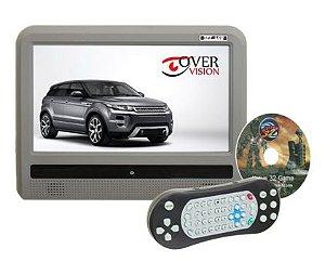 Monitor 9 Polegadas Acoplável Touch Screen - Cinza