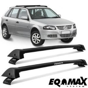Rack Eqmax New Wave Gol G3 99 05 G4 2P 4P 06 14 Preto