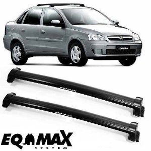 Rack Eqmax New Wave Corsa 2002 a 2012 Preto