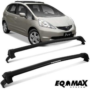 Rack Eqmax New Wave Honda Fit 09 14 Preto