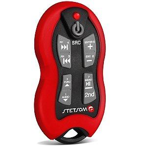 Controle Longa Distância Stetsom Sx2 500 Metros Vermelho 16F