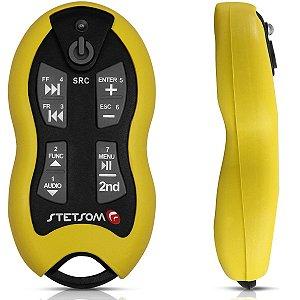 Controle Longa Distância Stetsom Sx2 500 Metros Amarelo 16F