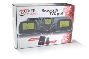 Receptor Antena Tv Digital Automotivo Kit P Carro