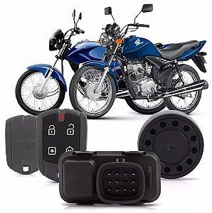 Alarme Moto CG150 e Fan125 do ano 2014 em diante