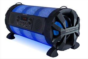 Caixa de Som Bazuka XB850 Polyvox Bluetooth e Bateria