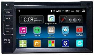 Central Multimidia 2 Din Smartmedia Android Waze DVD