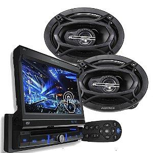 Kit DVD autmotivo SP6300 + Alto falante ATP6950