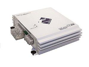 Modulo Amplificador Falcon HS400.4DX 4 Canais 500WRMS 2 Ohms