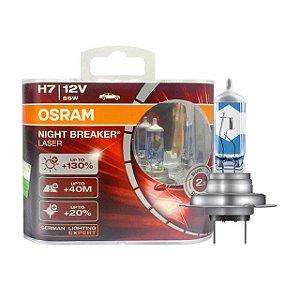 Lâmpada Osram H7 12V 60/55W Night Breaker Laser 64210 NBL