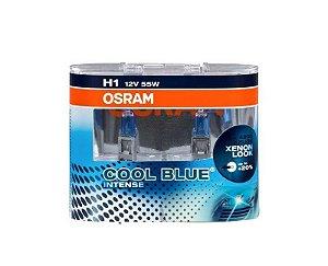Lâmpada Osram H1 12V 55W Cool Blue Intense 4.200K 64150 CBI