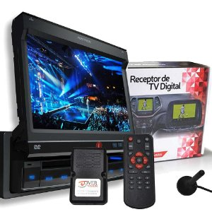 Dvd Automotivo Positron SP6300 + Receptor Antena Tv Digital