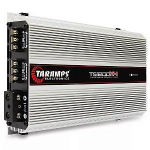 Módulo Amplificador Taramps TS1200x4 1200W RMS 4 Canais 2 Oh
