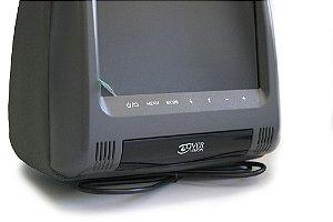 Monitor de Encosto de cabeça 7 Polegadas- Preto