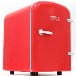 Mini Geladeira Portátil Automotivo 12v - Vermelho
