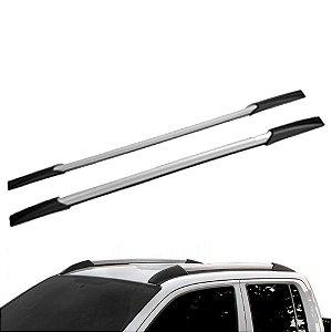 Rack Decorativo Universal até 180 cm Preto/Prata Aluminium