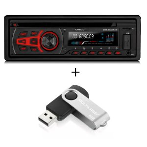 CD Player Multilaser Bluetooth BT - P3322 Com Pendrive de 8GB