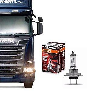 Lâmpada Osram H7 24V 70W TruckStar Pro