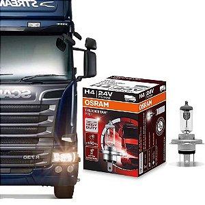 Lâmpada Osram H4 24V 75/70W Truckstar Pro