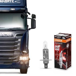 Lâmpada Osram H1 24V 70W Truckstar Pro