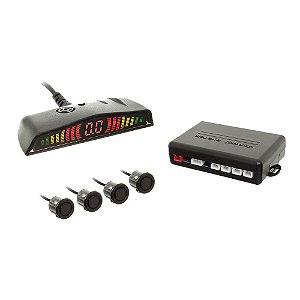 Sensor De Ré 18.5mm c/ Conector Display Led Preto