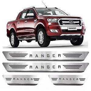 Soleira Ranger CD 12 a 17 Aço Inox Escovado